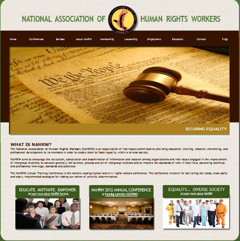 National Association of Human Rights Workers Website